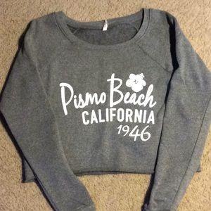 Pismo Beach Crop Sweatshirt